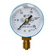 Манометр кислородный ПТК 25МПа