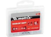 Бита MATRIX РН2х50, сталь 45Х, (10шт/упак)