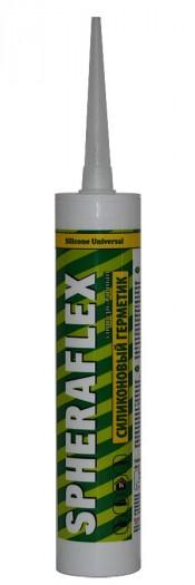 Герметик силиконовый SPHERAFLEX универсальный белый (300мл)