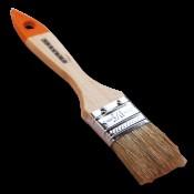 Кисть плоская 38 мм 1,5 натуральная щетина деревянная ручка SANTOOL ЛАЙТ