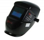 Маска сварщика P.I.T. Хамелеон P 843001 (2 регул., зат.  DIN 9-13 питание 2 мизин. батареи, черная)б/упаковки