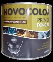 Грунт ГФ-021 красно-коричневый (25кг) Новоколор