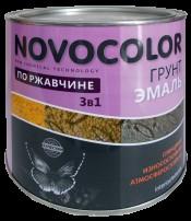 Грунт-эмаль 3 в 1 серый (1,9кг) Новоколор