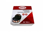 Проволока сварочная DEKA ER70S-6 0,8мм (15кг) (Китай)